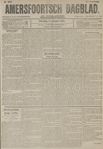 Amersfoortsch Dagblad / De Eemlander 1913-01-21
