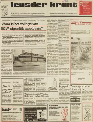 Leusder Krant 1986-12-11
