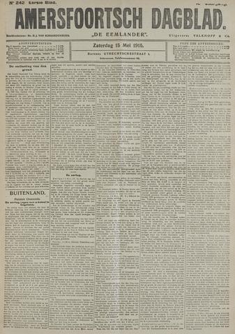 Amersfoortsch Dagblad / De Eemlander 1915-05-15