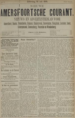 Nieuwe Amersfoortsche Courant 1881-07-16