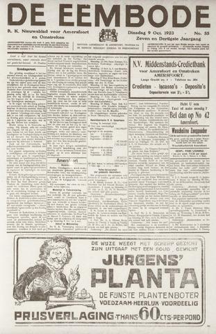 De Eembode 1923-10-09