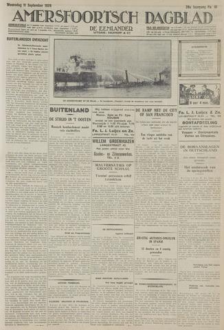 Amersfoortsch Dagblad / De Eemlander 1929-09-11
