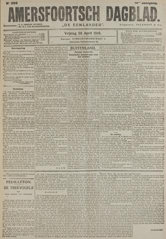 Amersfoortsch Dagblad / De Eemlander 1916-04-28