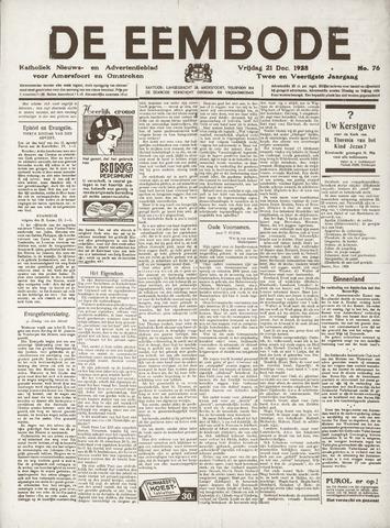 De Eembode 1928-12-21
