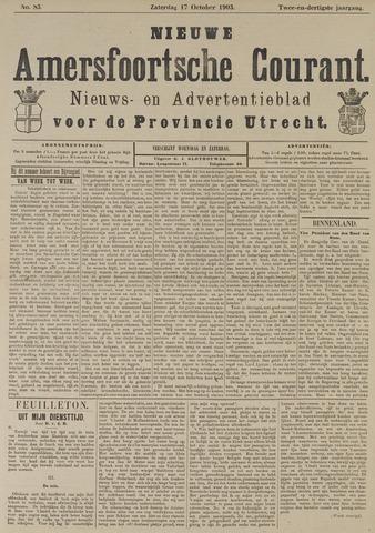 Nieuwe Amersfoortsche Courant 1903-10-17