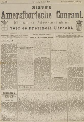 Nieuwe Amersfoortsche Courant 1898-06-15