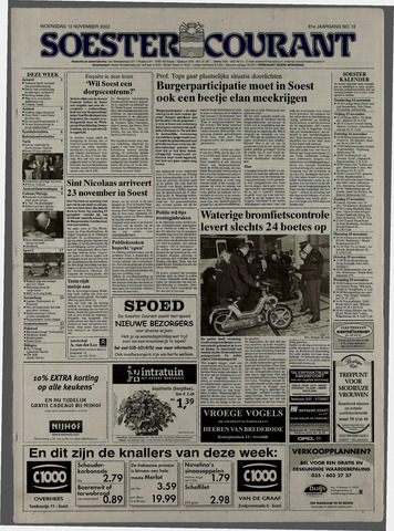 Soester Courant 2002-11-13