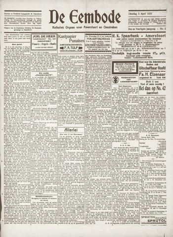 De Eembode 1932-04-05