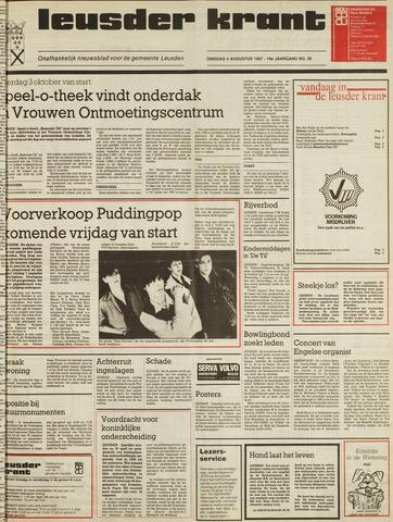 Leusder Krant 1987-08-04