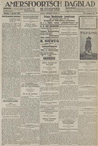 Amersfoortsch Dagblad / De Eemlander 1928-10-09