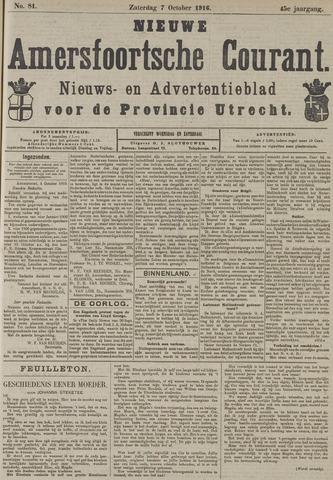 Nieuwe Amersfoortsche Courant 1916-10-07
