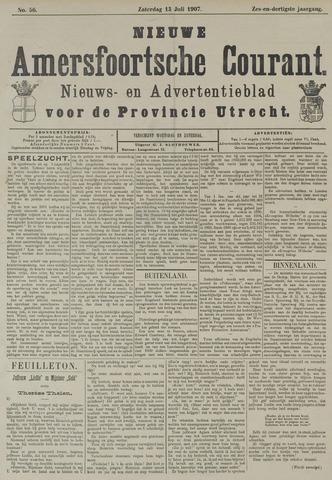Nieuwe Amersfoortsche Courant 1907-07-13