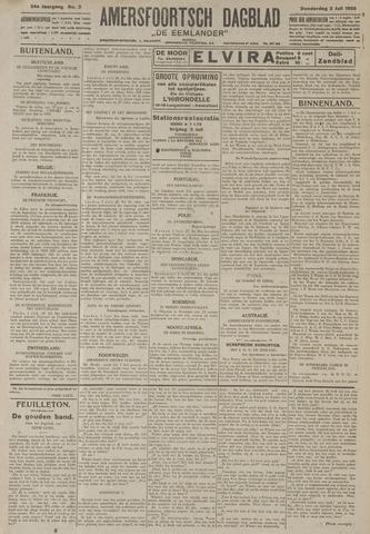 Amersfoortsch Dagblad / De Eemlander 1925-07-02