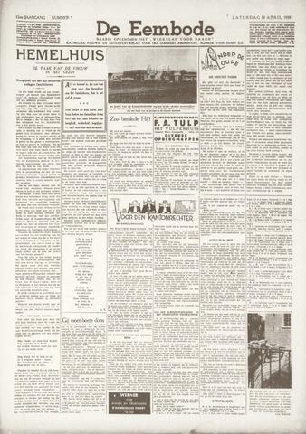 De Eembode 1938-04-30