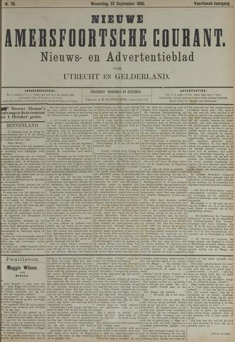 Nieuwe Amersfoortsche Courant 1885-09-23