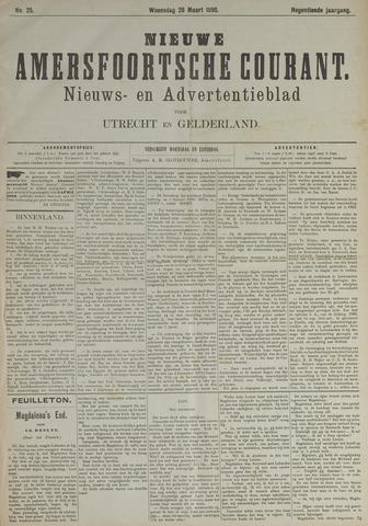 Nieuwe Amersfoortsche Courant 1890-03-26