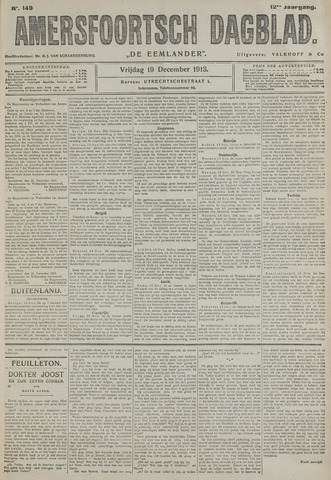 Amersfoortsch Dagblad / De Eemlander 1913-12-19