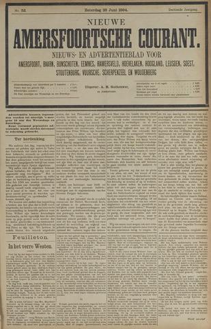 Nieuwe Amersfoortsche Courant 1884-06-28