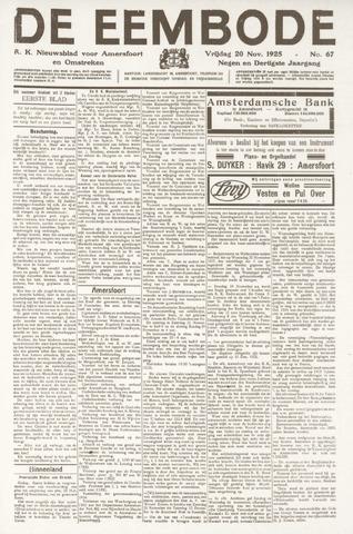 De Eembode 1925-11-20