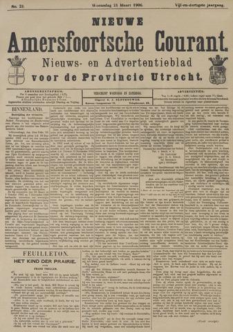 Nieuwe Amersfoortsche Courant 1906-03-21