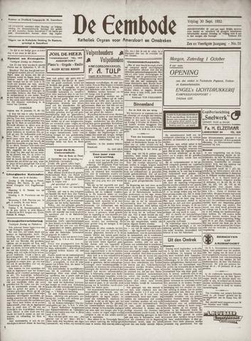 De Eembode 1932-09-30