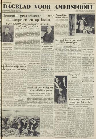 Dagblad voor Amersfoort 1951-02-27