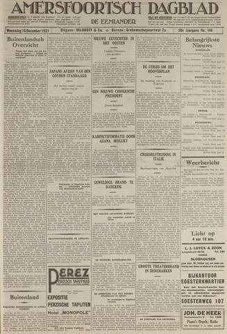 Amersfoortsch Dagblad / De Eemlander 1931-12-16