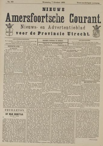 Nieuwe Amersfoortsche Courant 1903-10-07