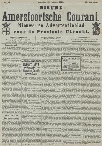 Nieuwe Amersfoortsche Courant 1920-10-30