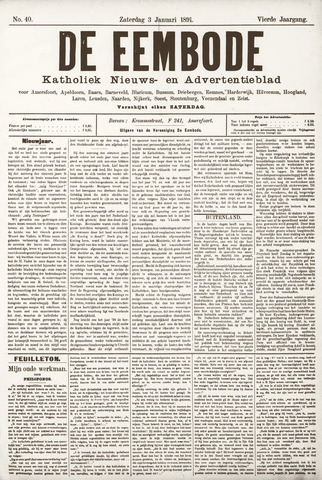 De Eembode 1891