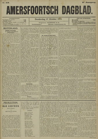 Amersfoortsch Dagblad 1904-10-27