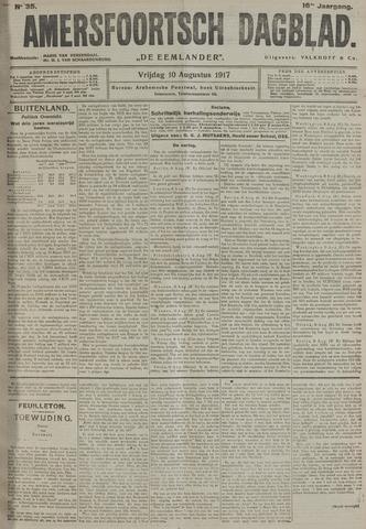 Amersfoortsch Dagblad / De Eemlander 1917-08-10