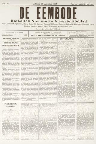 De Eembode 1907-08-10