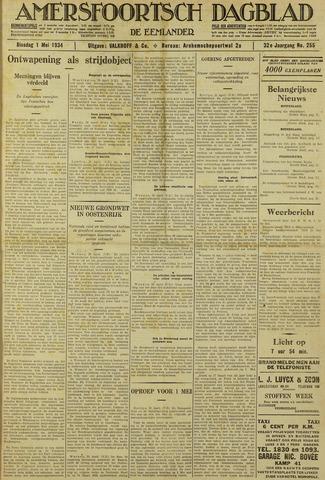 Amersfoortsch Dagblad / De Eemlander 1934-05-01