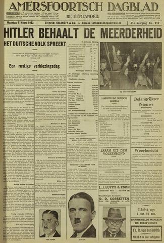 Amersfoortsch Dagblad / De Eemlander 1933-03-06