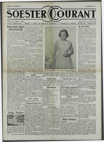 Soester Courant 1958-01-17