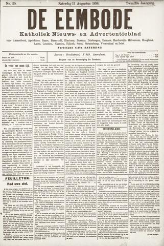 De Eembode 1898-08-13