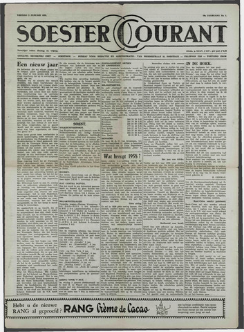 Soester Courant 1958-01-03