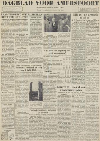Dagblad voor Amersfoort 1947-11-01