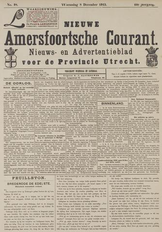 Nieuwe Amersfoortsche Courant 1915-12-08