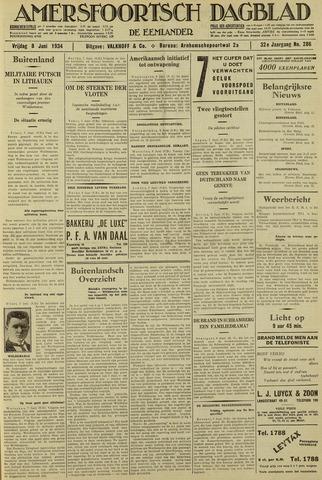 Amersfoortsch Dagblad / De Eemlander 1934-06-08