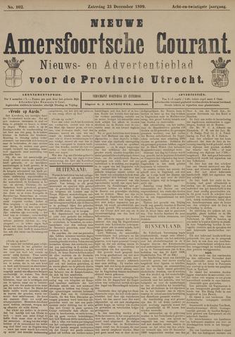 Nieuwe Amersfoortsche Courant 1899-12-23