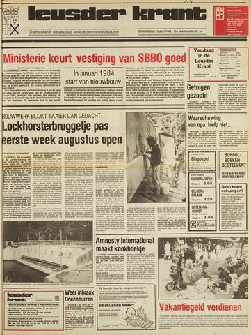 Leusder Krant 1983-07-21