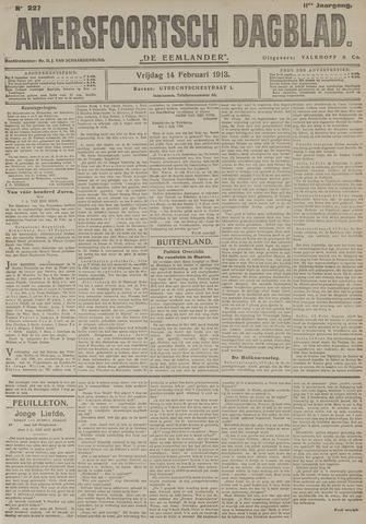 Amersfoortsch Dagblad / De Eemlander 1913-02-14