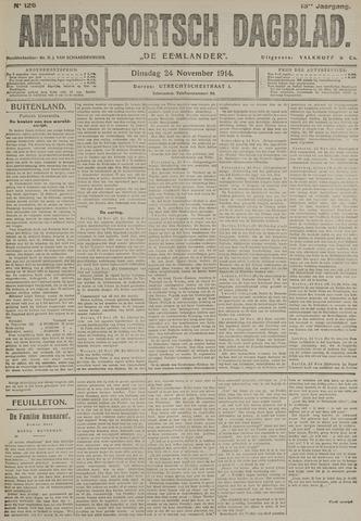 Amersfoortsch Dagblad / De Eemlander 1914-11-24