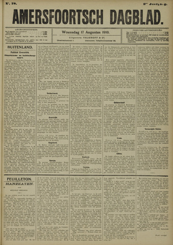 Amersfoortsch Dagblad 1910-08-17