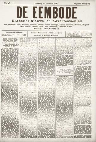 De Eembode 1896-02-22