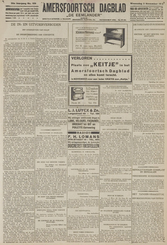 Amersfoortsch Dagblad / De Eemlander 1927-11-02