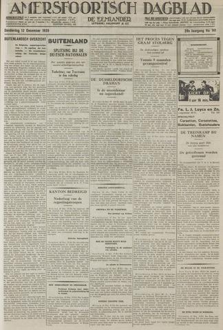 Amersfoortsch Dagblad / De Eemlander 1929-12-12