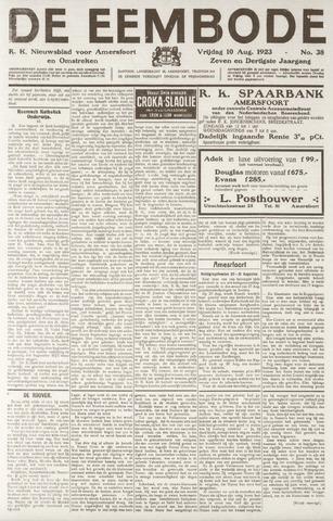 De Eembode 1923-08-10